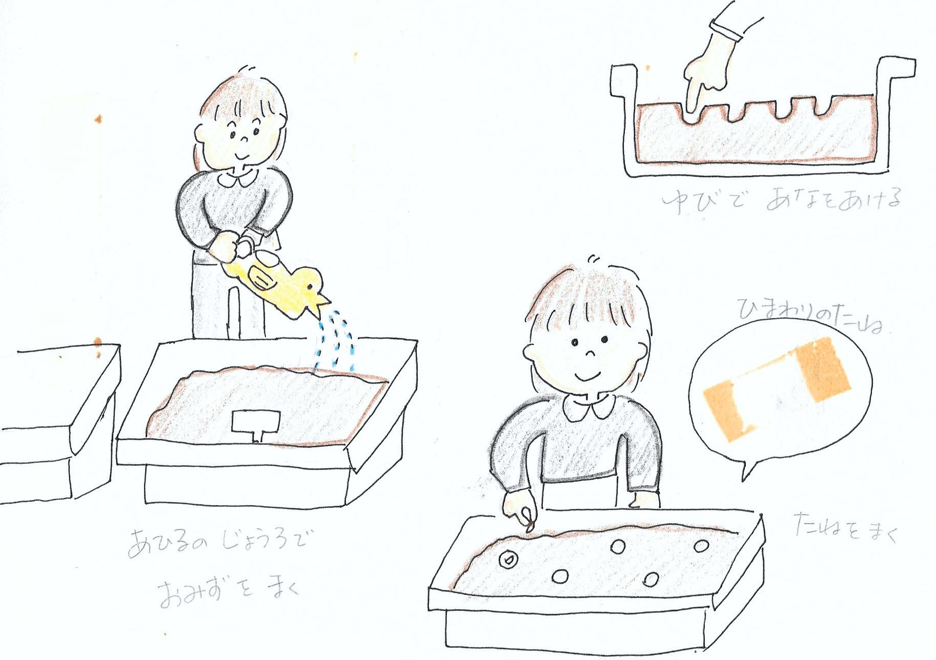 【母の絵日記】2歳9ヶ月〜10ヶ月 なかなか知らない言葉