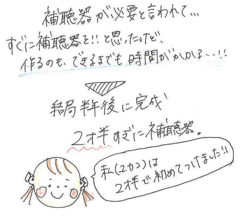 【母の体験談】ユカコの難聴がわかるまで③